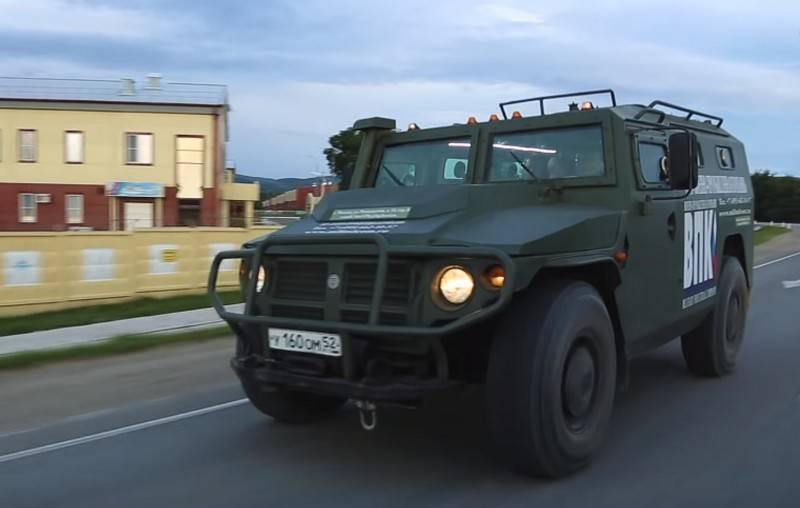 Бронеавтомобиль газ-2975 «тигр»