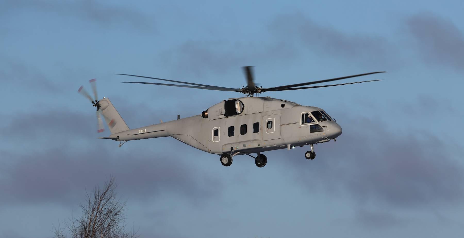 Общая характеристика вертолета ми-8т