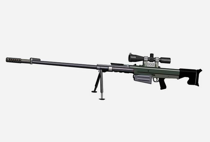 Крупнокалиберная снайперская винтовка свдк