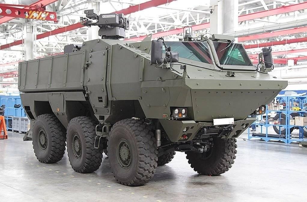 Урал-63095 тайфун-у скорость, броня, двигатель, вес, размеры