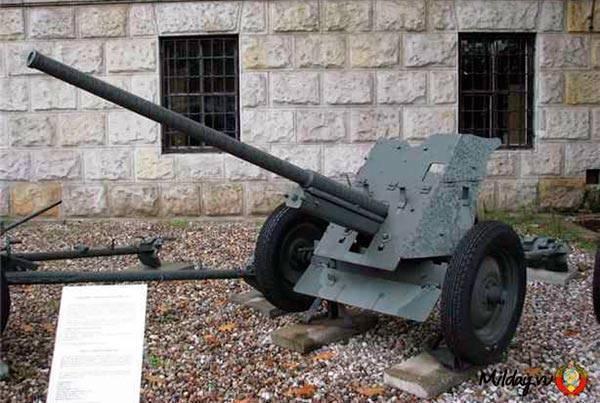 Противотанковое орудие 45 мм. «сорокопятка» – знаменитая рабочая лошадка великой войны