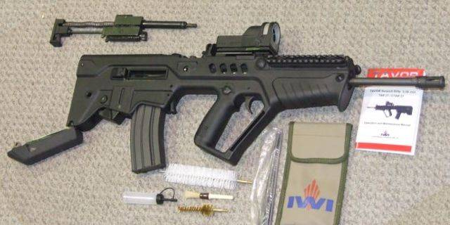 Tavor mtar-21 штурмовая винтовка — характеристики, фото, ттх