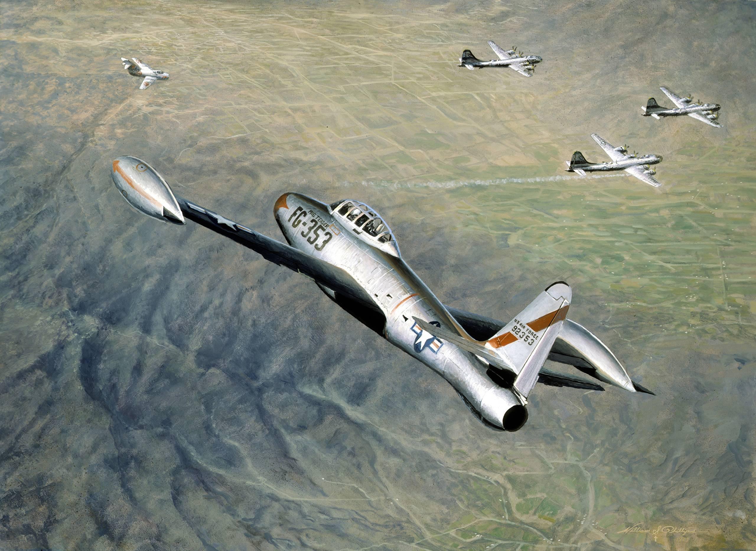 """""""черный четверг"""": как миги сбили 10 бомбардировщиков ввс сша"""
