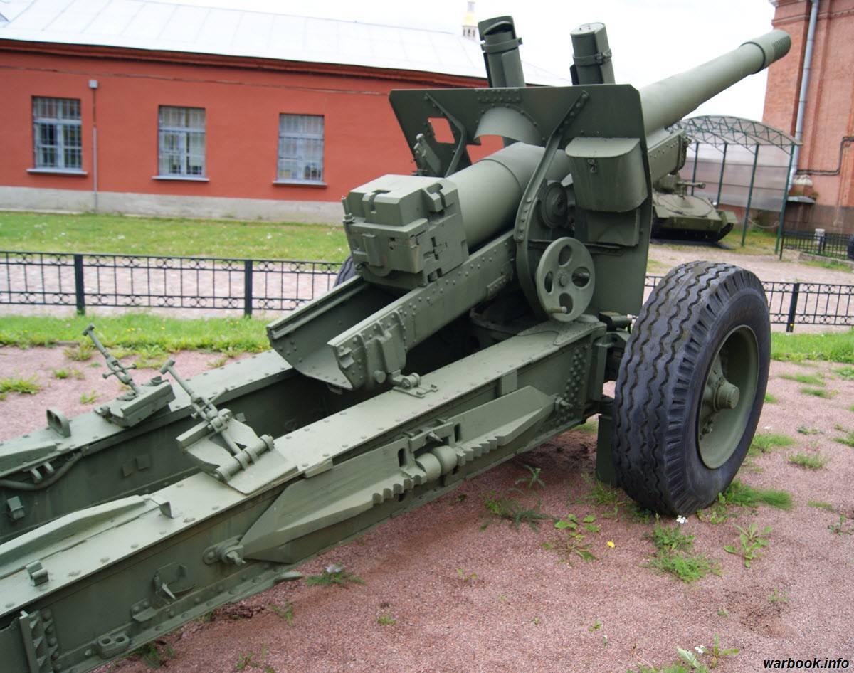 Реферат 152-мм гаубица-пушка образца 1937 года (мл-20)