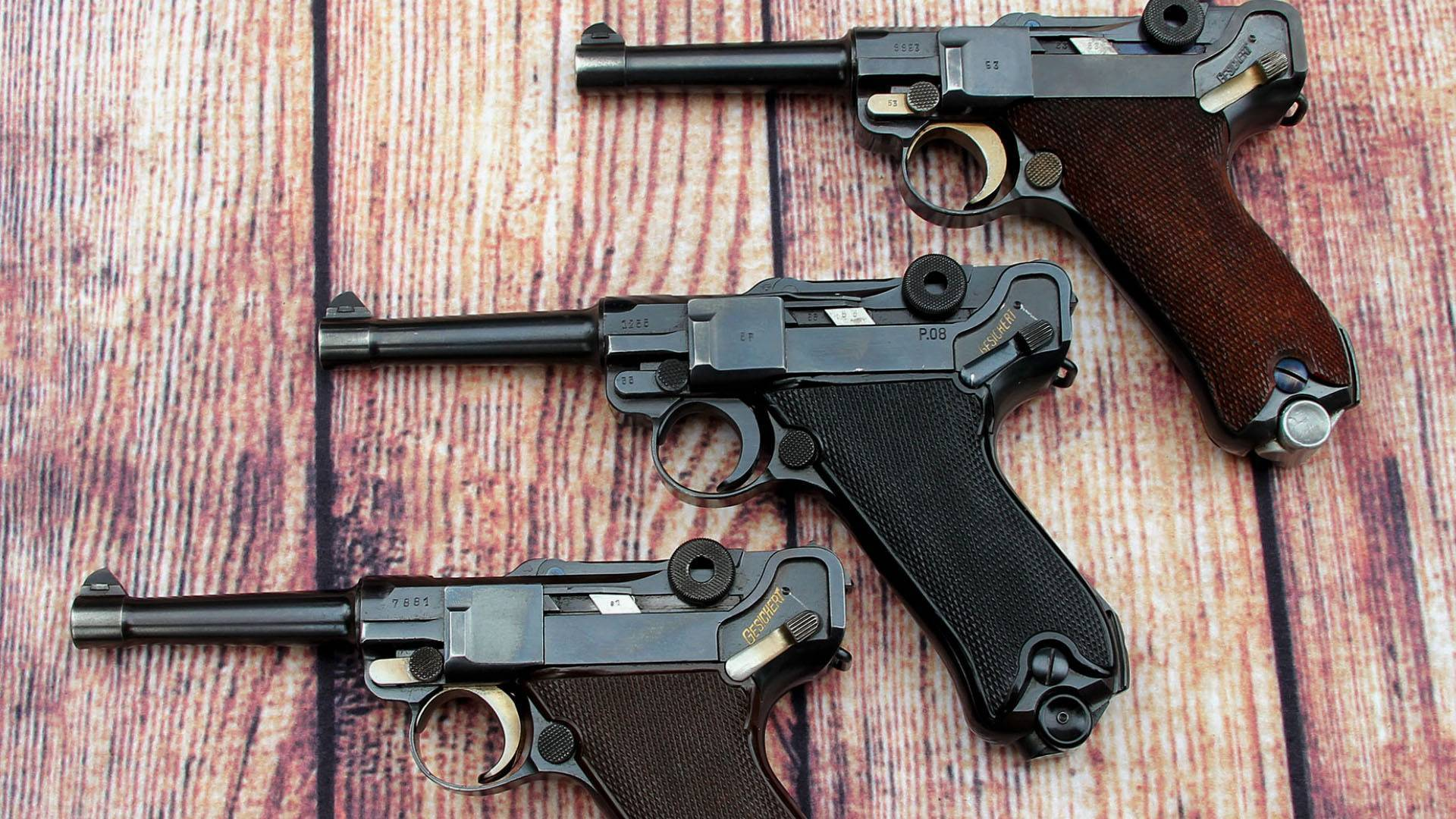 Пистолет люгера — традиция