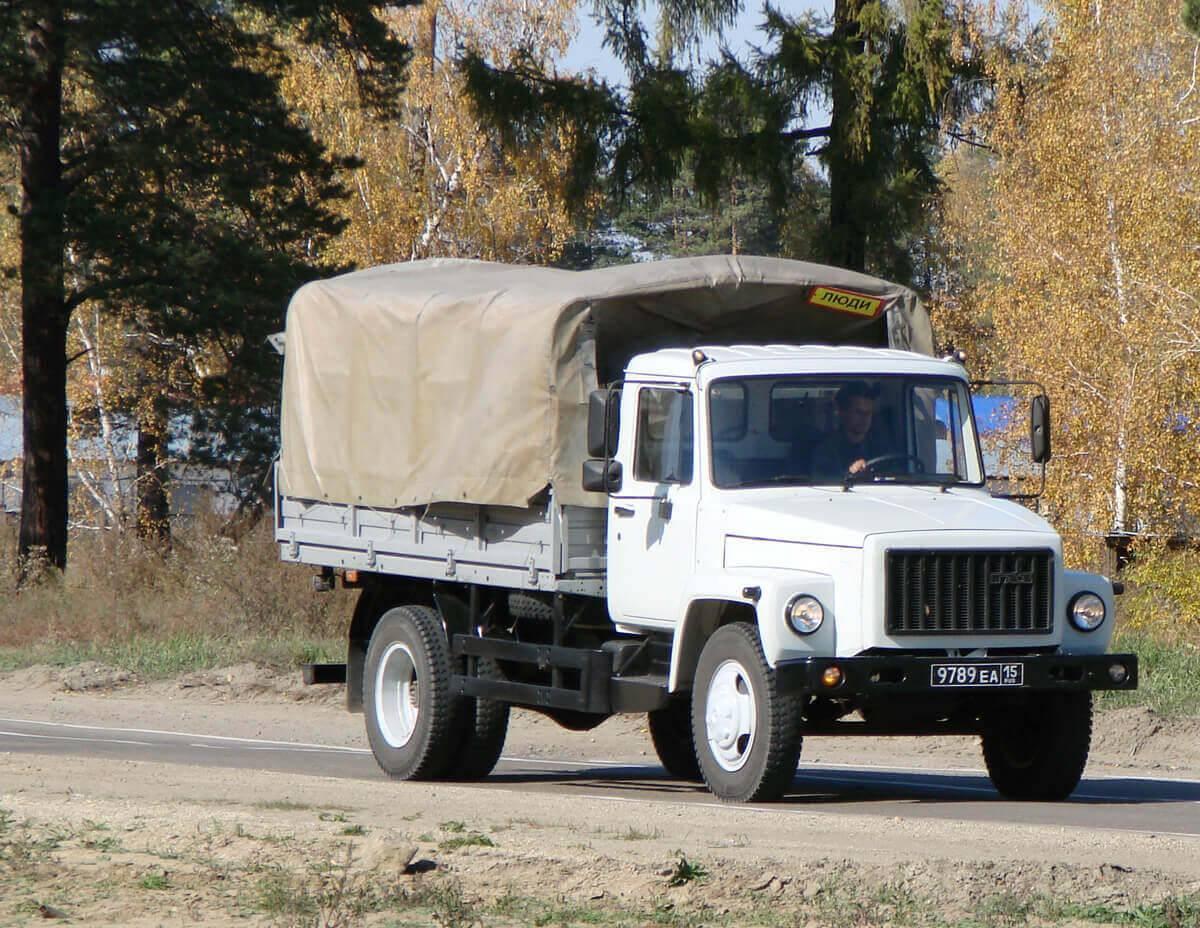 Грузовой автомобиль ГАЗ-3309: конструкция, характеристики, особенности эксплуатации