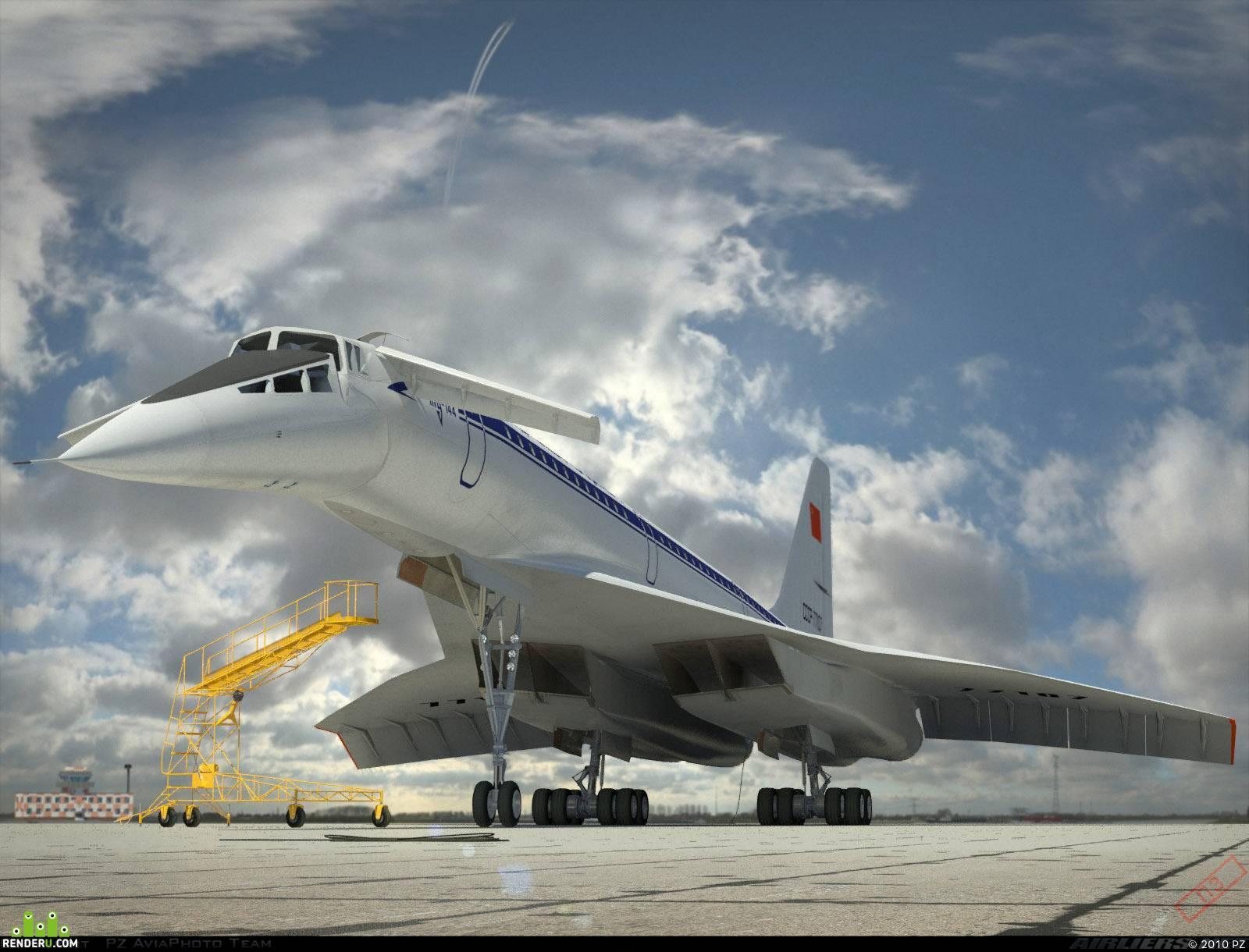 Туполев ту-144. фото. история. характеристики.