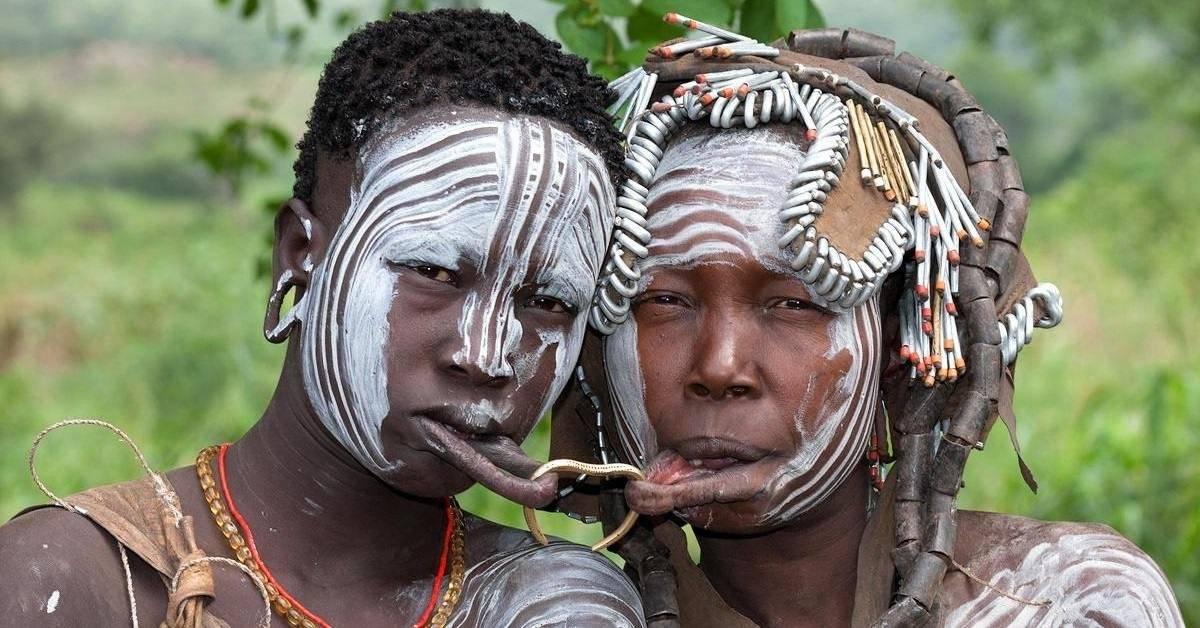 Холодное оружие из африки