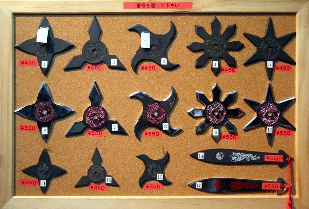 Холодное оружие: сюрикэн. смертоносная звезда сюрикэн: история, классификация, особенности применения огромный сюрикен