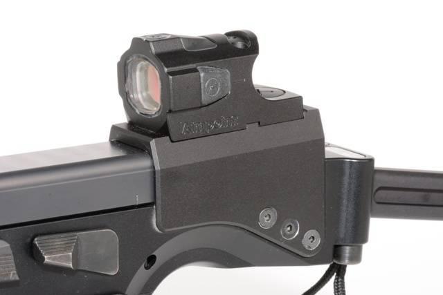 Пистолет Thomas Spohr P08 carbine