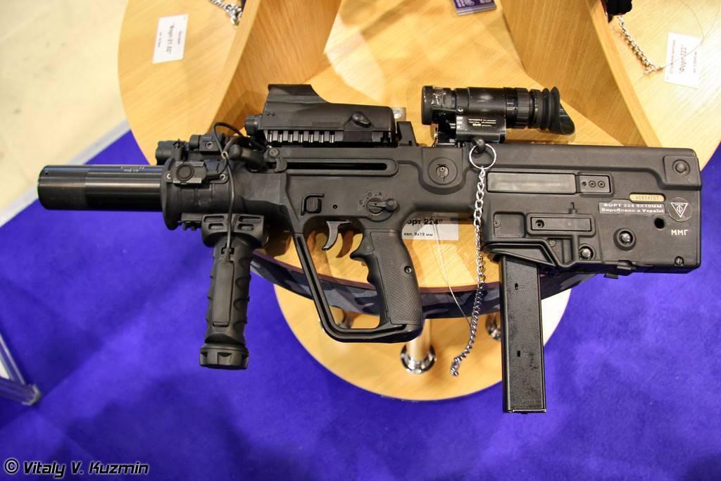 Штурмовая винтовка форт 221: совместный продукт израильских и украинских оружейников