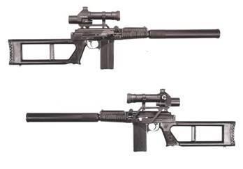 Винтовочный снайперский комплекс вск-94