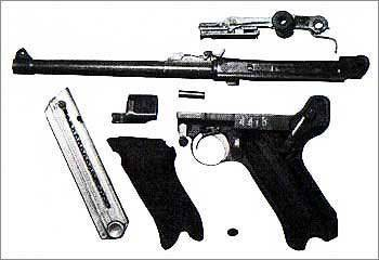 Пистолет borchardt-luger m1900