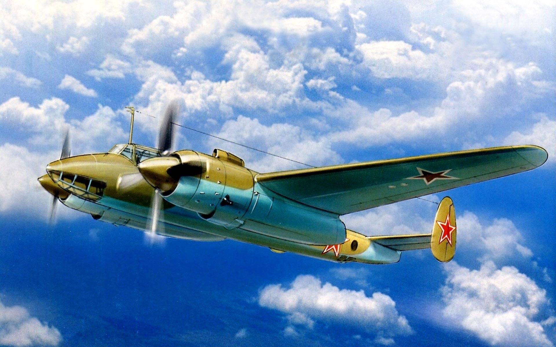 Бомбардировщик пе-2 - описание конструкции