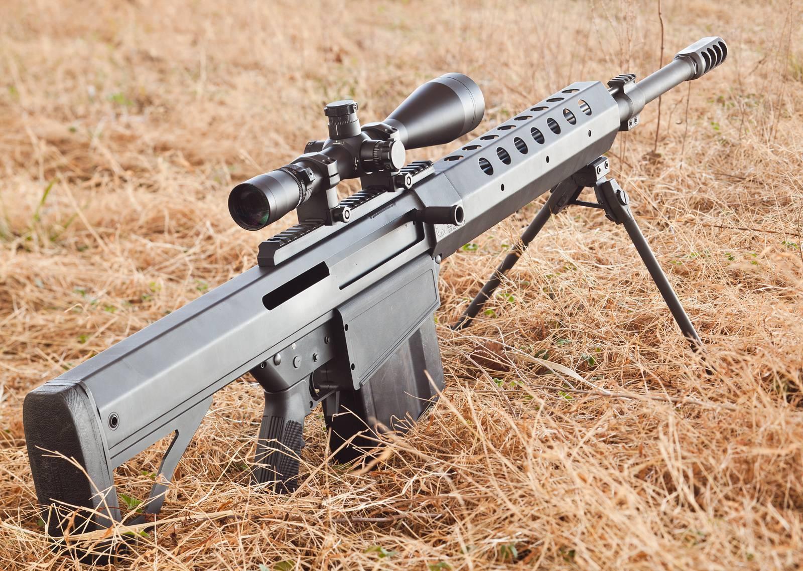 Крупнокалиберная снайперская винтовка serbu rn-50