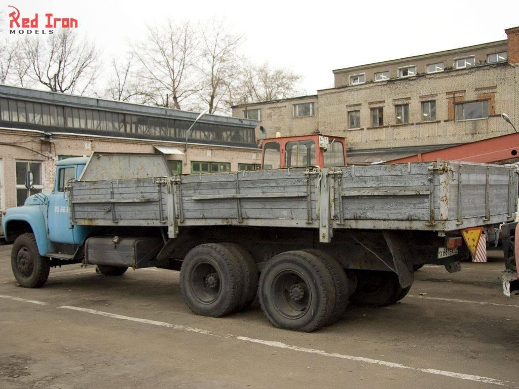 Зил 133г40 бортовой 6x4 («спецавтопартнёр»: автомобили, строительная спецтехника (россия, москва))
