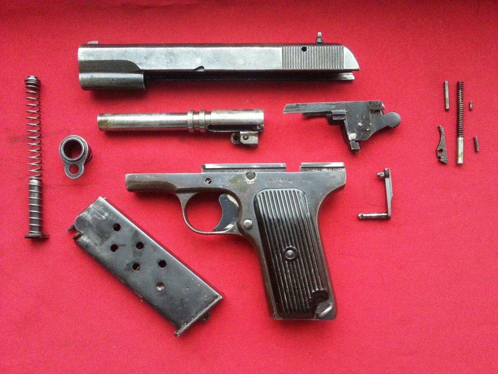 Пистолет тт боевой