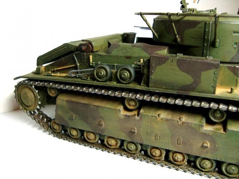 Т-28 – первый многобашенный танк РККА