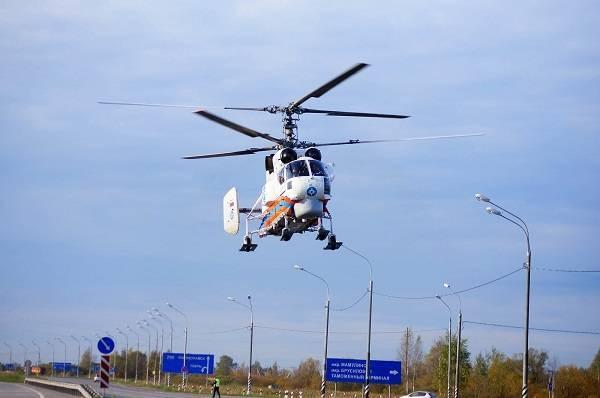 Вертолёт Ка-32 – на все руки мастер