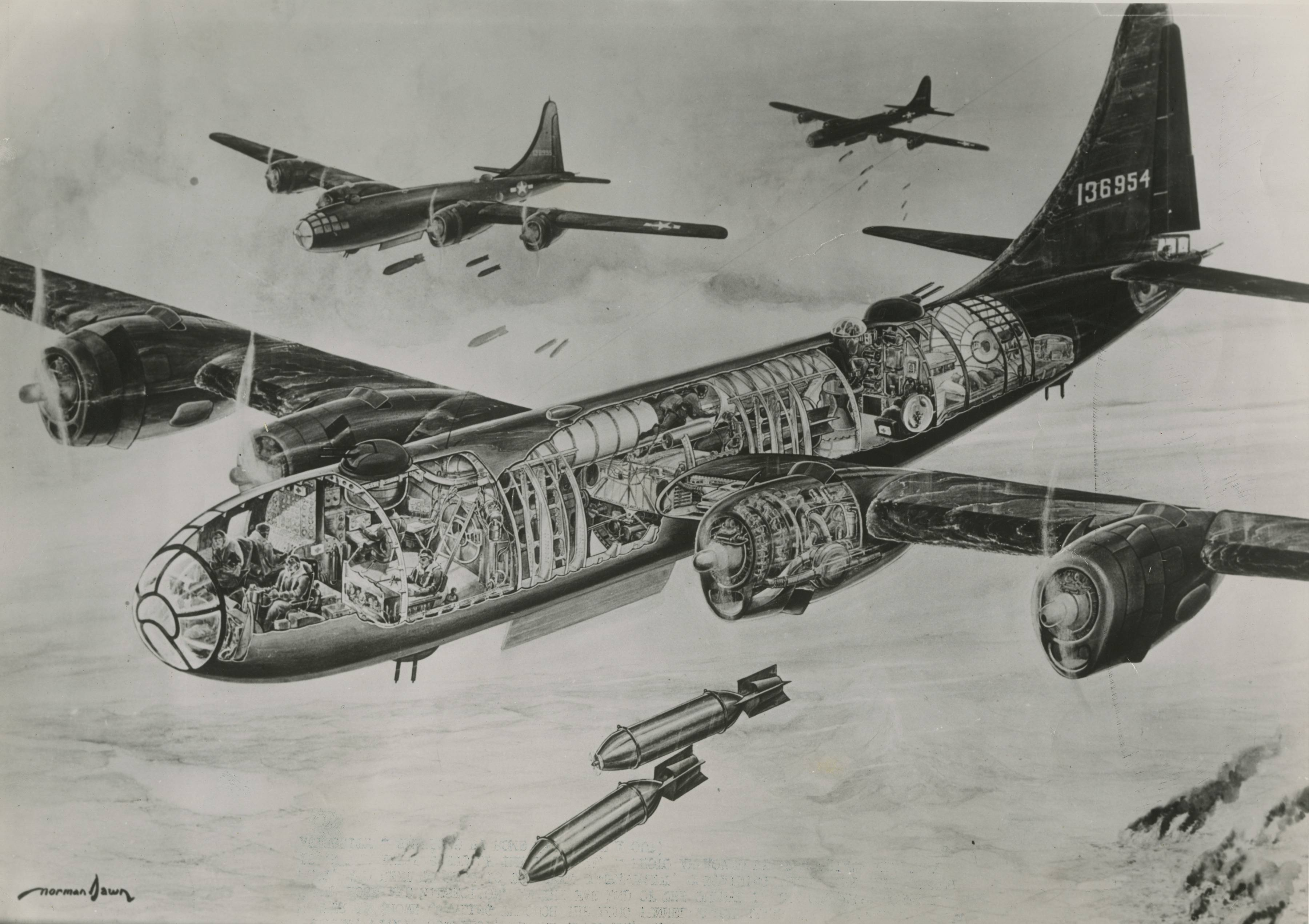 "B-29 ""superfortress"""
