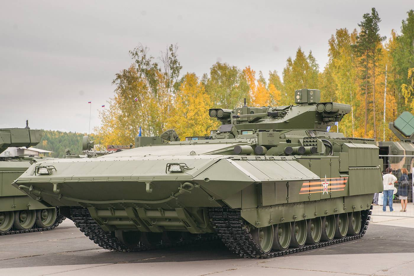 Бмп т-15 армата двигатель. вес. размеры. вооружение