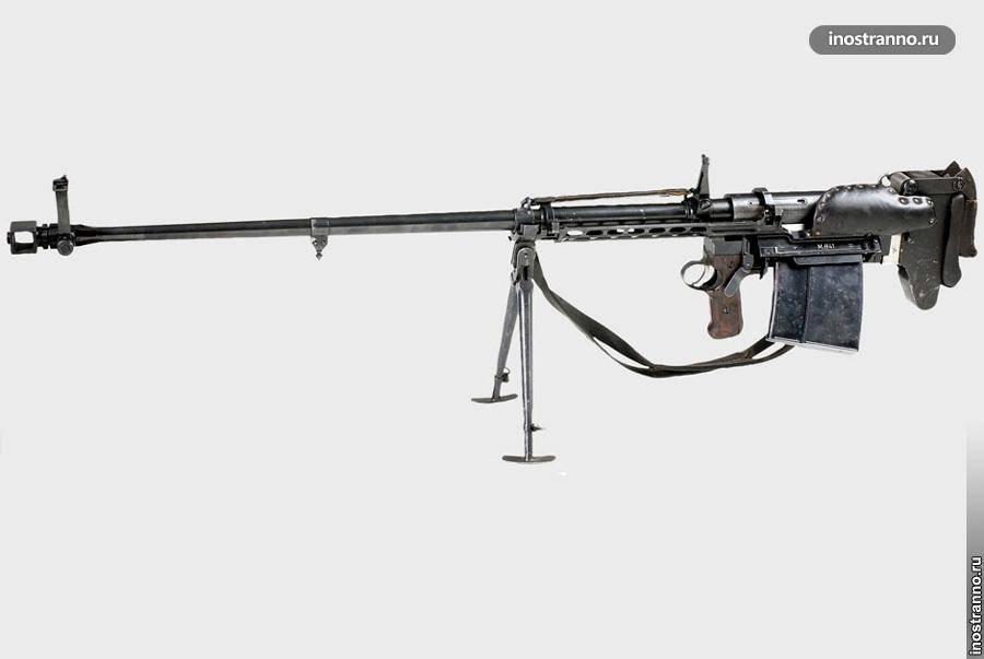 Первые противотанковые ружья мира
