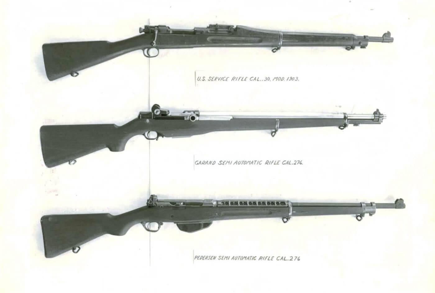 Педерсен винтовка - pedersen rifle