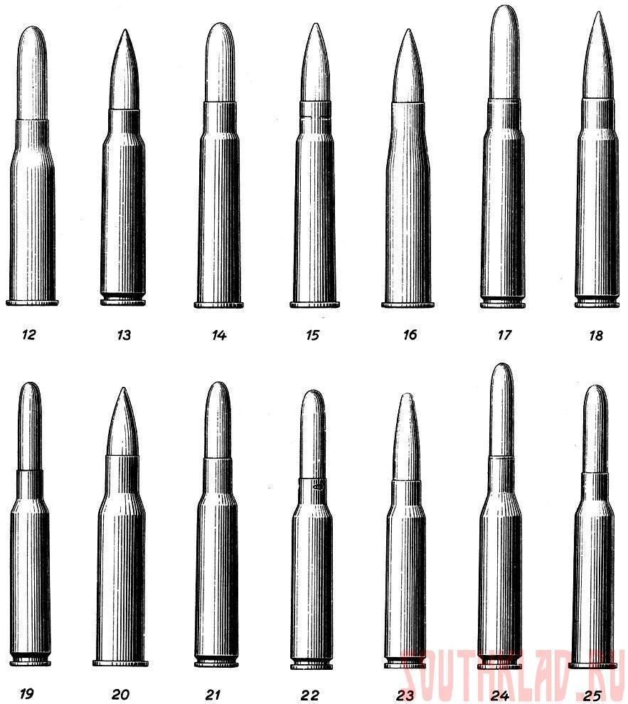 Типы патронов для охоты на гладкоствольное и нарезное оружие