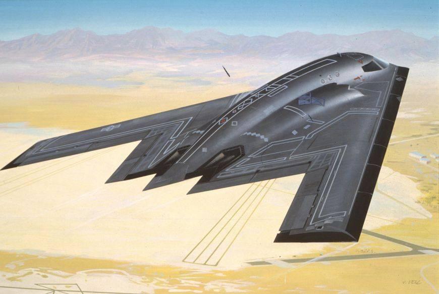 Тест-драйв бомбардировщика «стелс»: что придёт насмену?