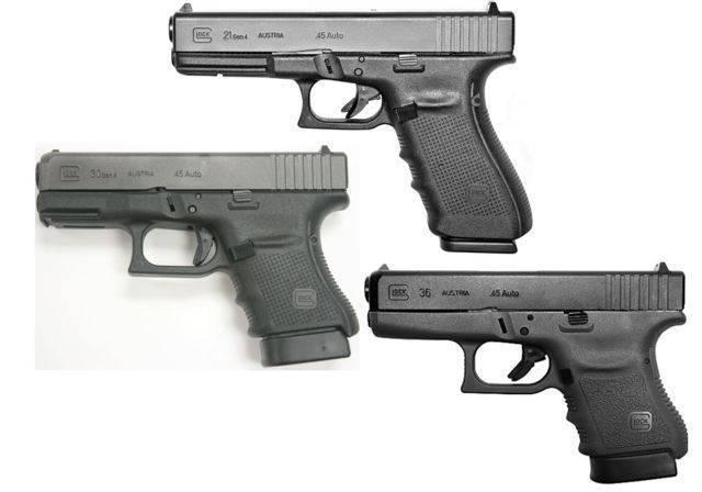 Пистолет Глок 21