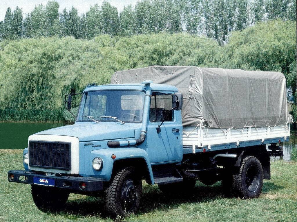 Автомобиль газ 3309 - технические характеристики