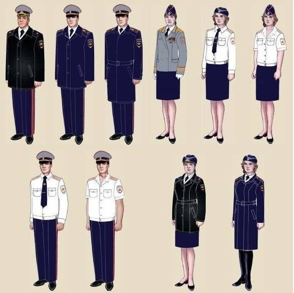 Какая она - форма полиции нового образца?