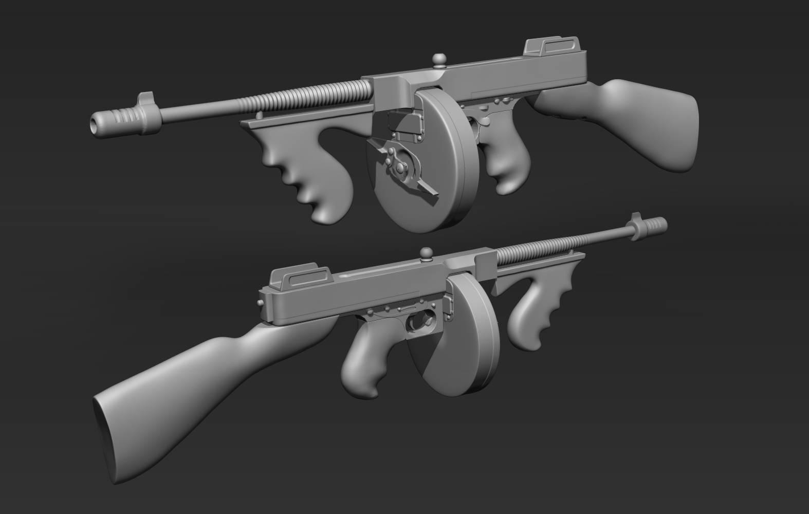 Пистолет-пулемёт томпсона — викивоины — энциклопедия о военной истории