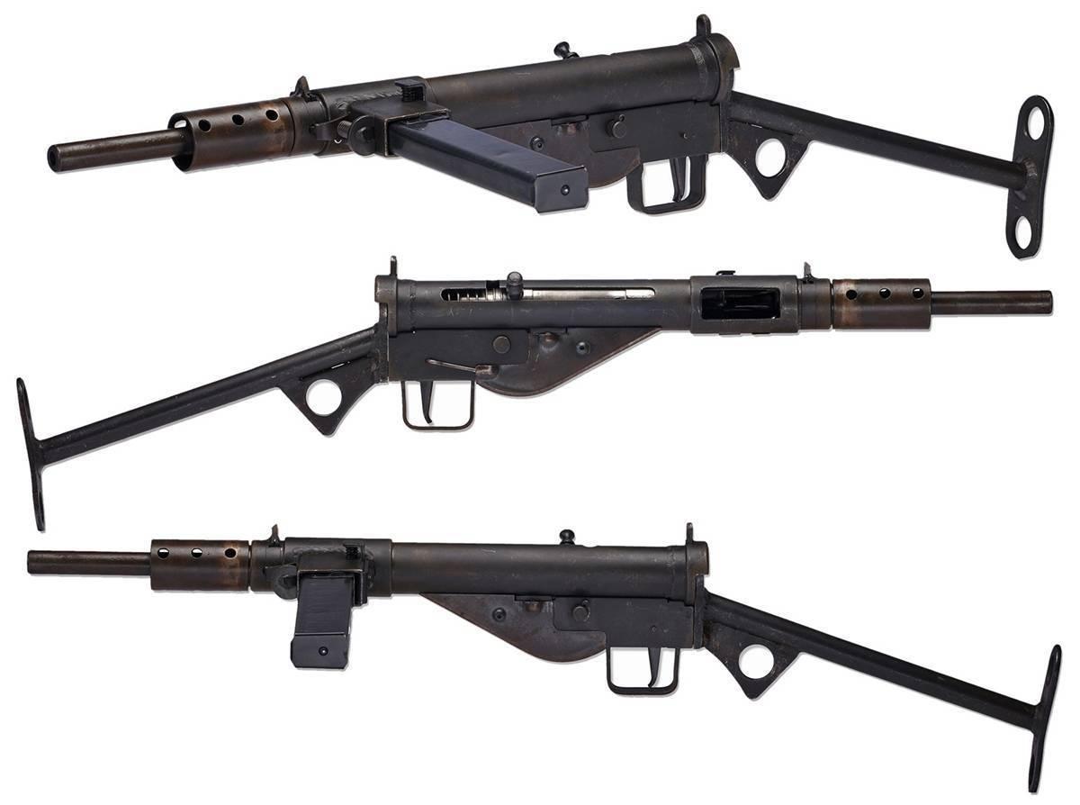 Пистолет-пулемет STEN Mk.IIS