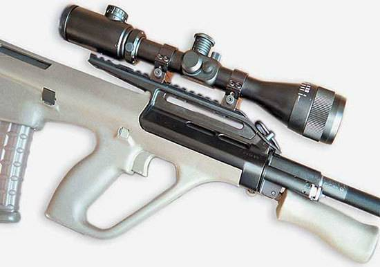 Гражданское оружие Австрии