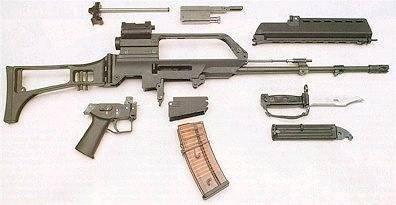 Видео: штурмовая винтовка heckler & koch g36c