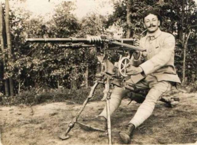"""Ручной пулемет """"гочкис"""""""