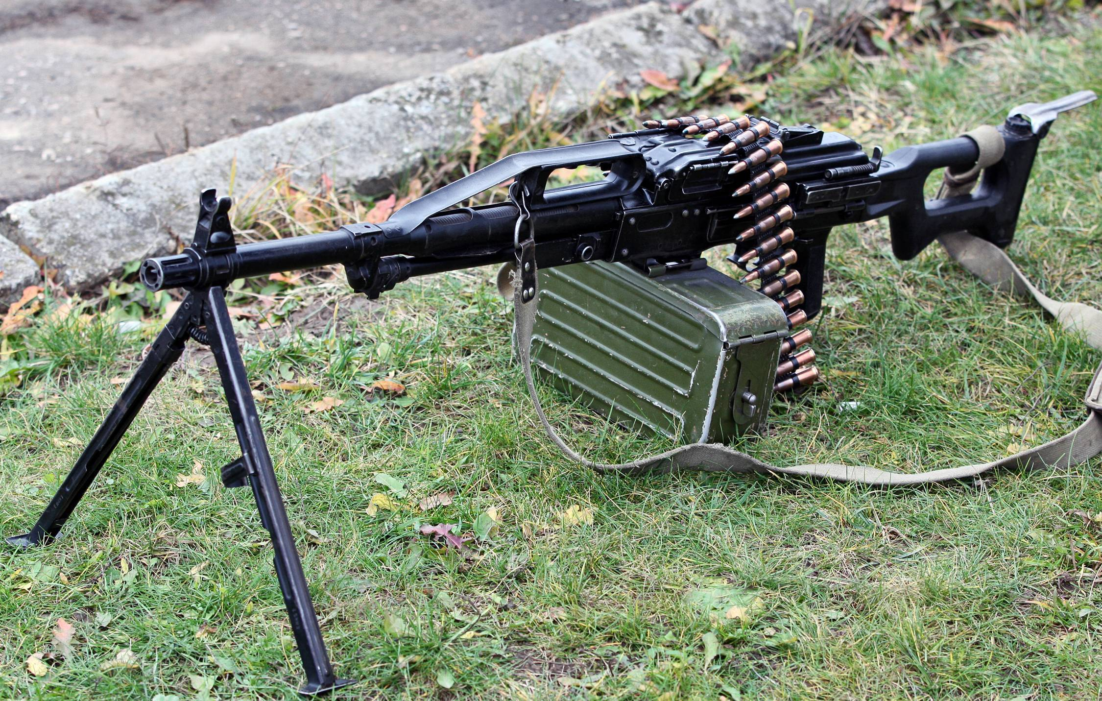 Укороченный пулемет печенег