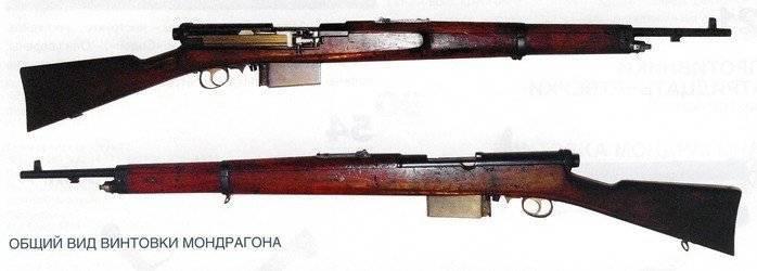 Mondragón (винтовка) - википедия
