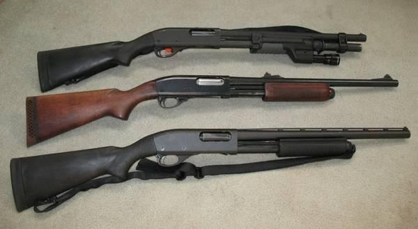 Новое магазинное ружьё remington 870 express tactical magpul