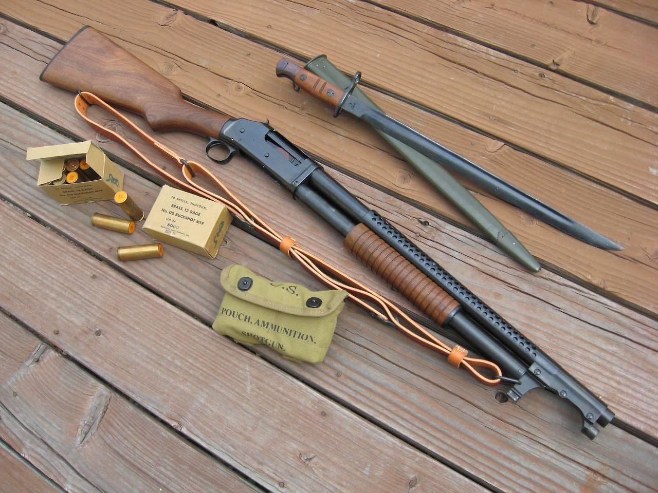 Winchester model 1897 — википедия переиздание // wiki 2