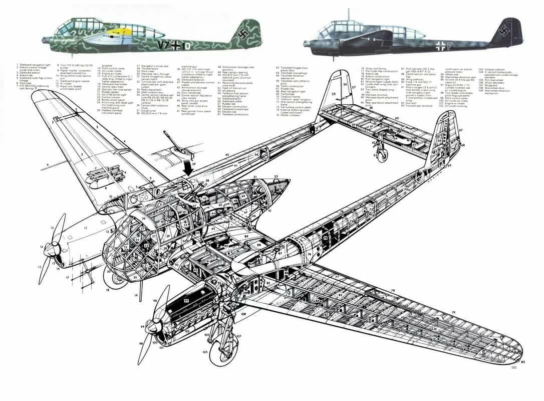 Focke-wulf fw 189 uhu — википедия