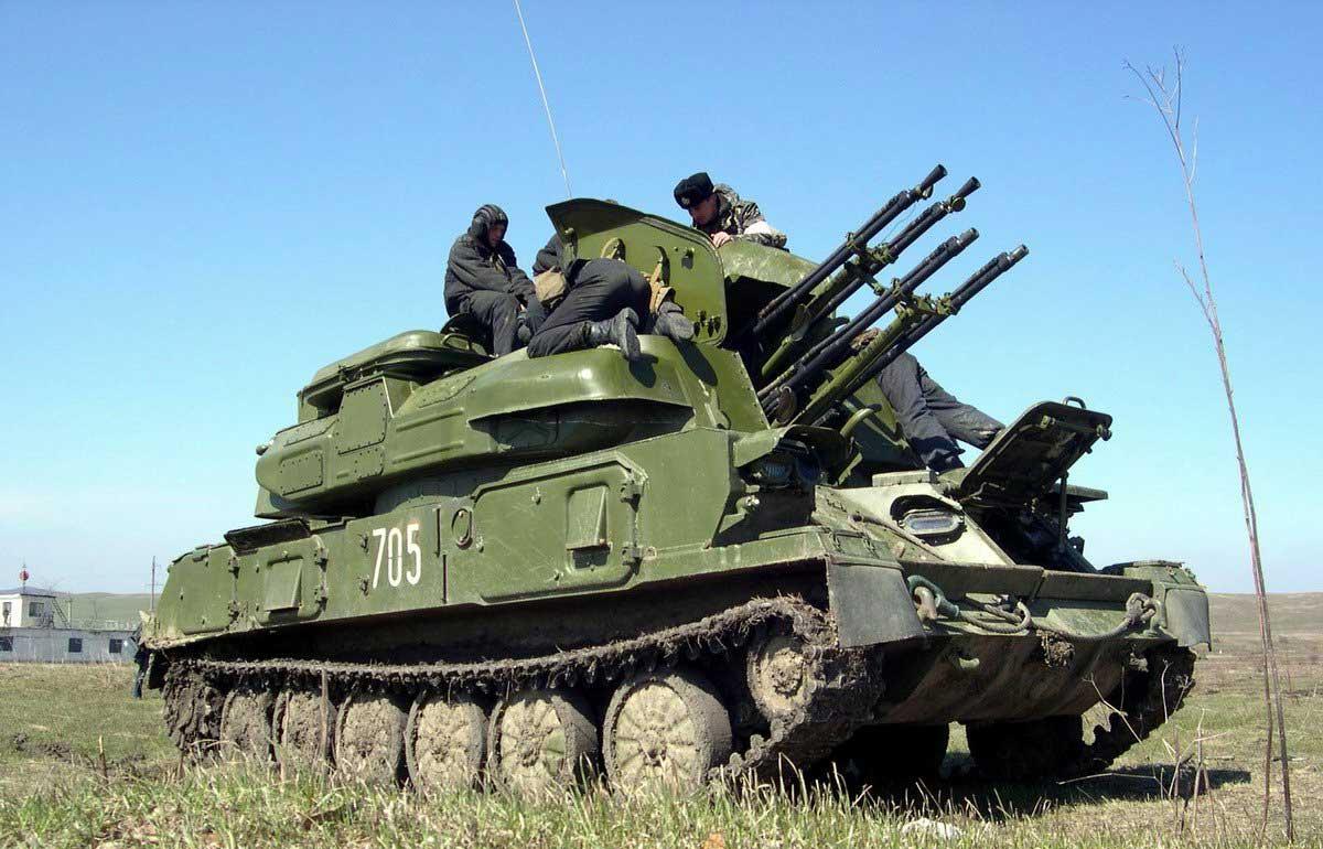 Зсу-23-4 — викивоины — энциклопедия о военной истории