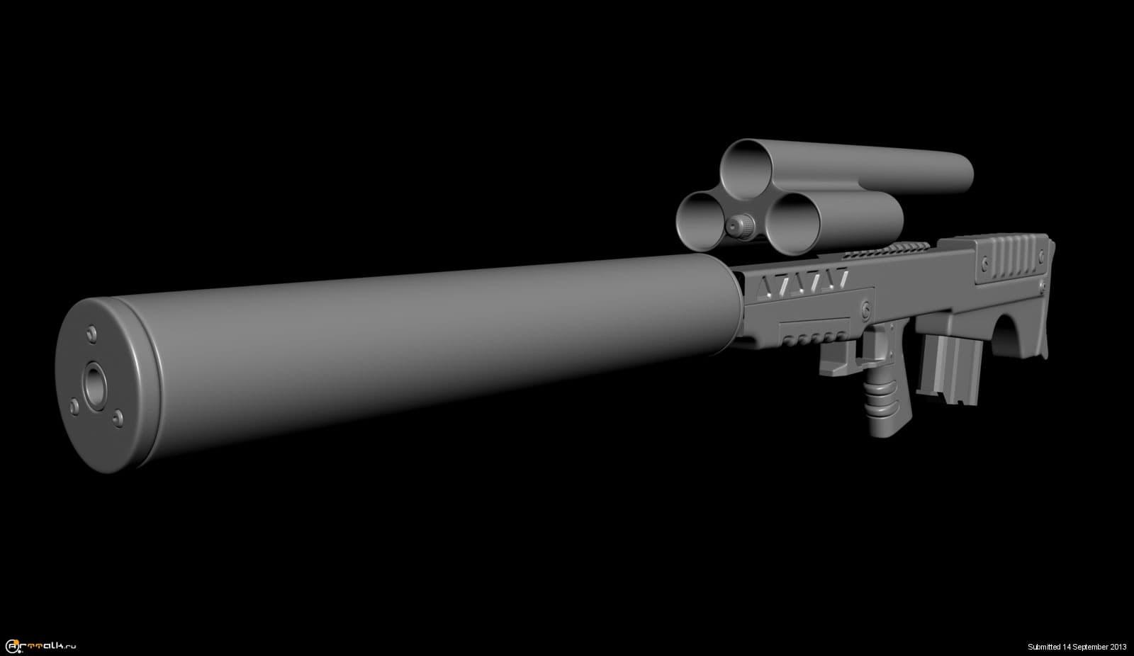 """Видео: винтовка всск «выхлоп. самая тихая крупнокалиберная винтовка – """"выхлоп"""""""