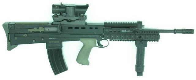 Штурмовая винтовка enfield  sa-80