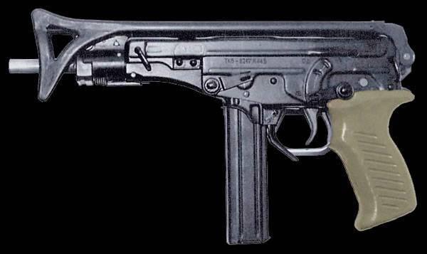 Пистолет-пулемет ОЦ-02 Кипарис