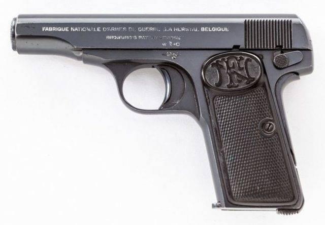 Отец всех пистолетов – Браунинг