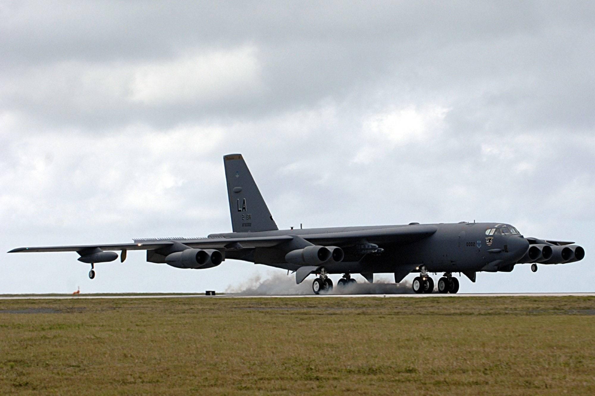 Boeing B-52 – ветеран Холодной войны