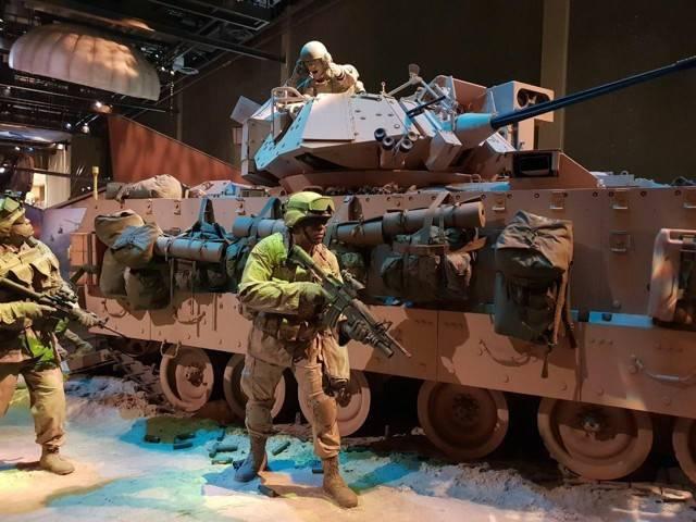 БМП М2 Bradley – друг американской пехоты