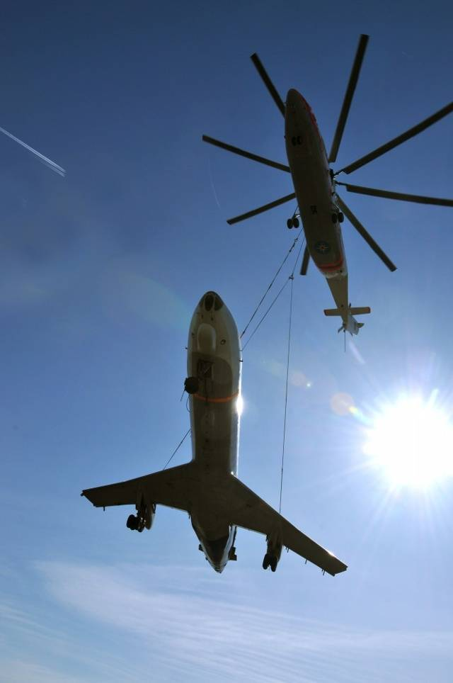 Ми-26 : самый большой вертолёт в мире